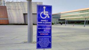park yeri tabelaları