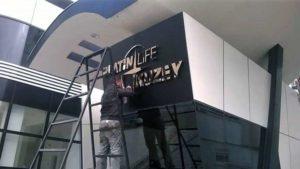 bursa bina giriş tabelası