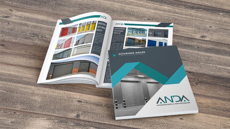 Katalog Tasarımı ve basımı