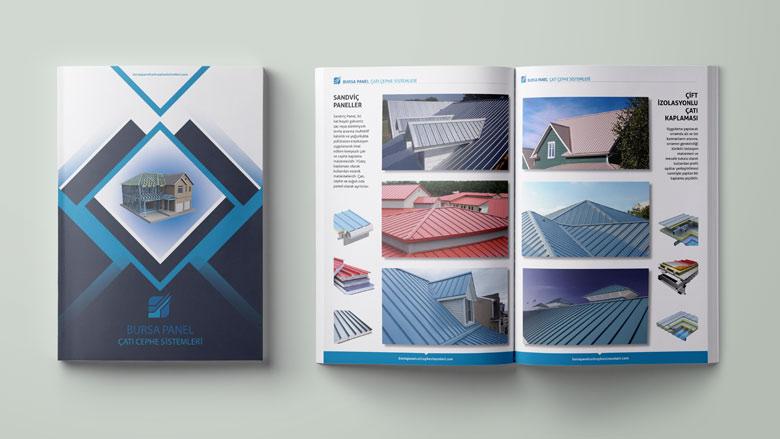 Bursa Panel Katalog tasarımı baskısı