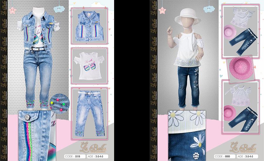 Bebek moda çekimi