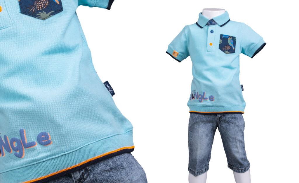 çocuk giyim ürün çekimi