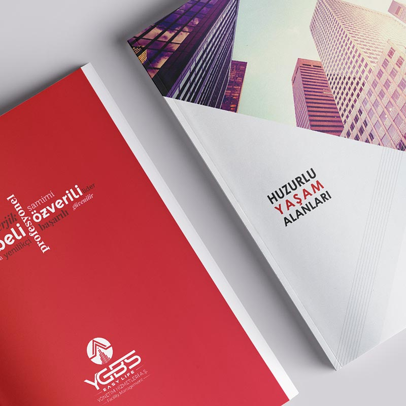 YGBS Katalog Tasarımı