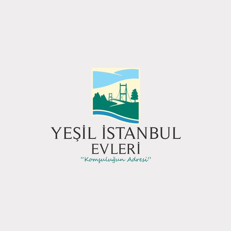 Yeşil İstanbul Evleri Logo Çalışması