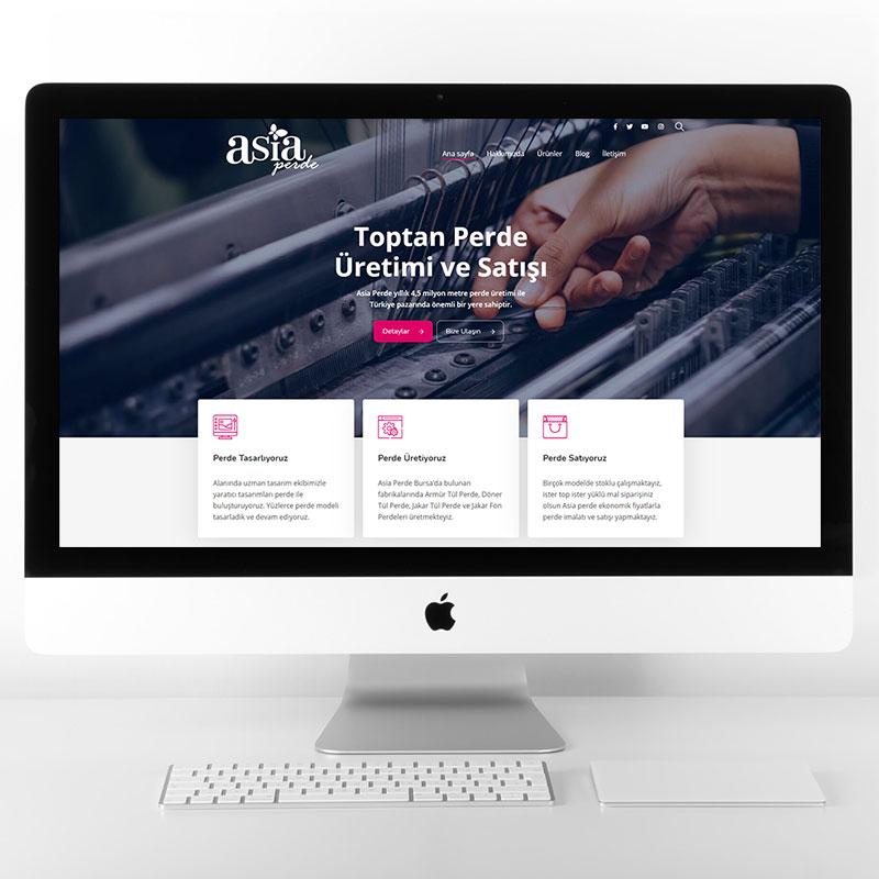 Asia Perde Web Tasarımı