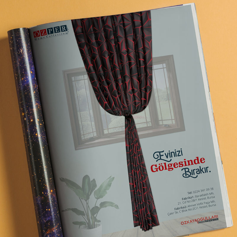 Basılı Dergi Reklamı
