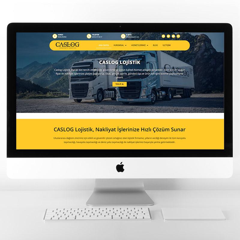 caslog web sitesi tasarımı