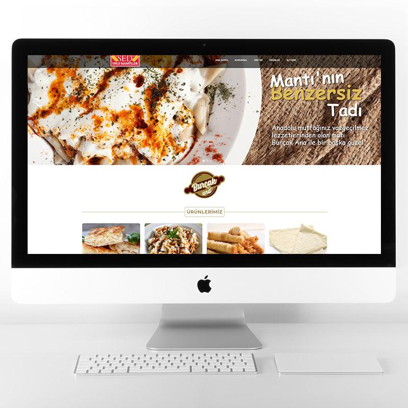 Sed Unlu Mamüller Web Sitesi