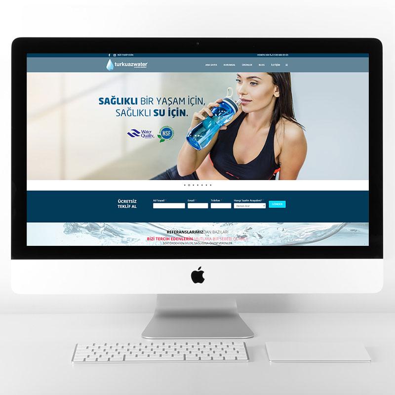 Turkuaz Water Web Sitesi