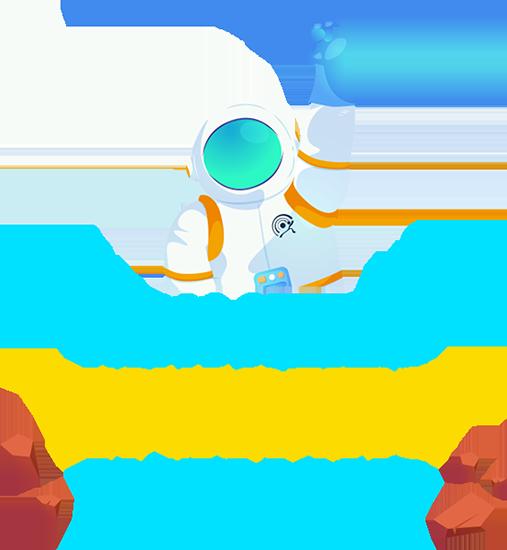 AGD Ajansı Banner Astronot